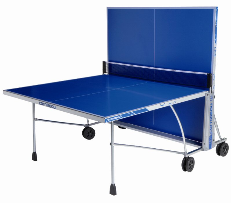 Cornilleau sport 100 outdoor rollaway in blue - Cornilleau outdoor table tennis cover ...