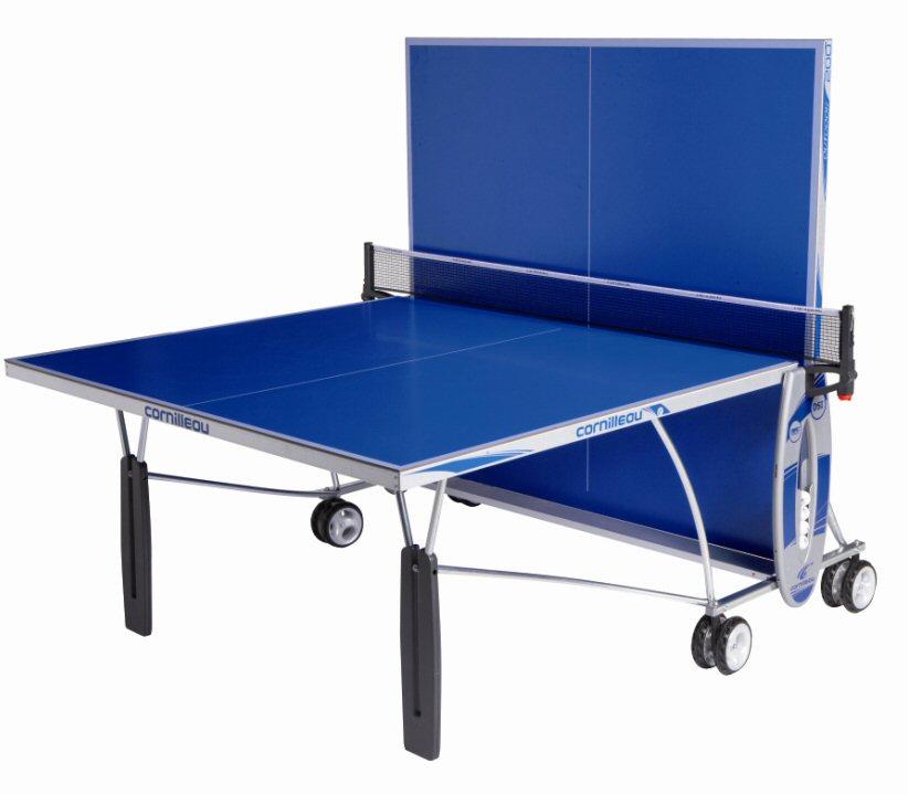 Cornilleau sport 200 outdoor rollaway in blue - Cornilleau outdoor table tennis cover ...