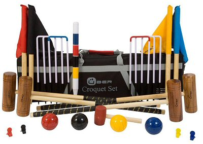 jeu croquet pour adultes et enfants. Black Bedroom Furniture Sets. Home Design Ideas