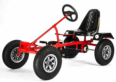 Dino Sport Zf Go Kart In Red