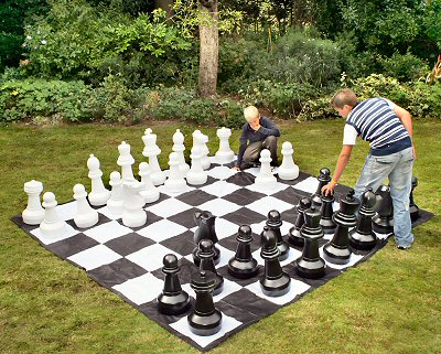 Outdoor chess for Jeu adulte exterieur