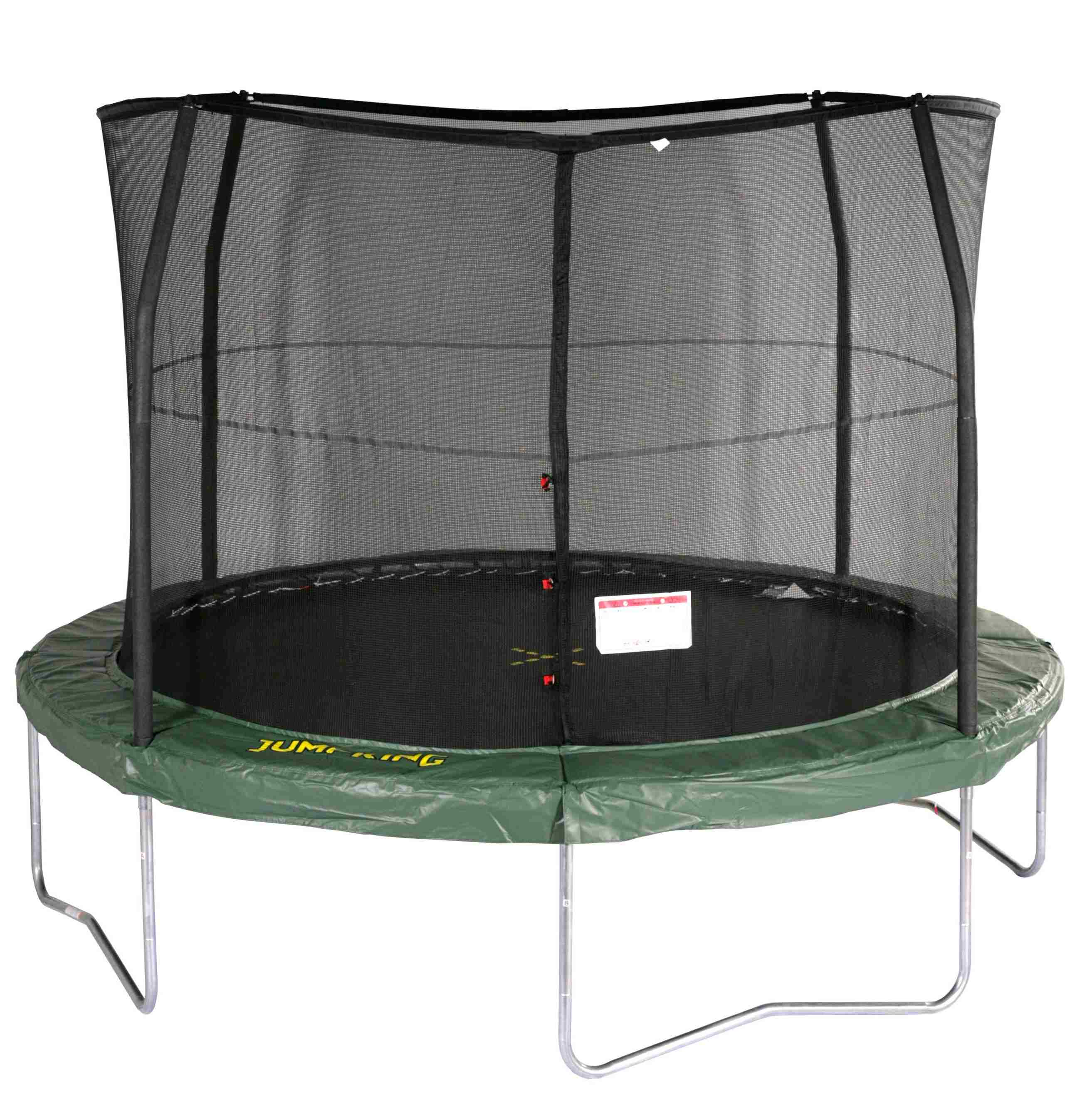 Jumpking 14ft Jumppod Deluxe Trampoline With Enclosure: 10ft Jumppod Trampoline At Asda £99.99