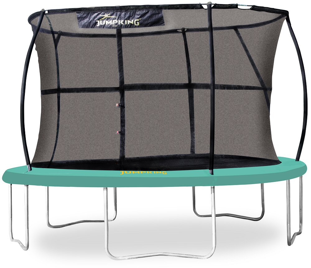 Jumpking JumpPOD CLASSIC Premium 12 Ft Trampoline Set With