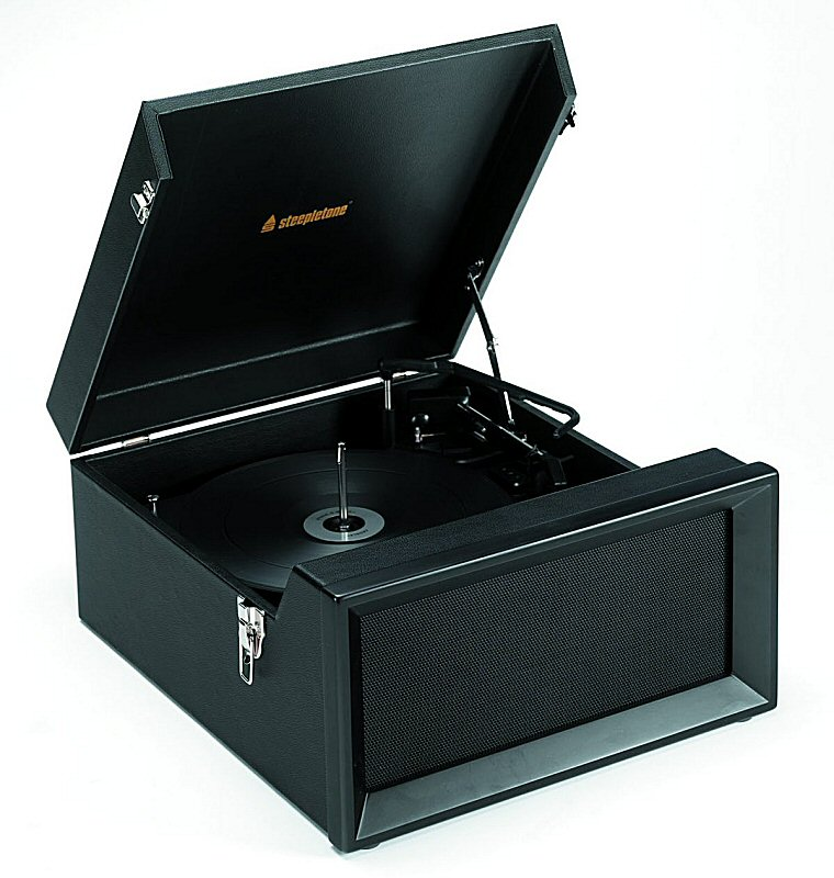 Traditional Record Player 3speed Record Player/radio