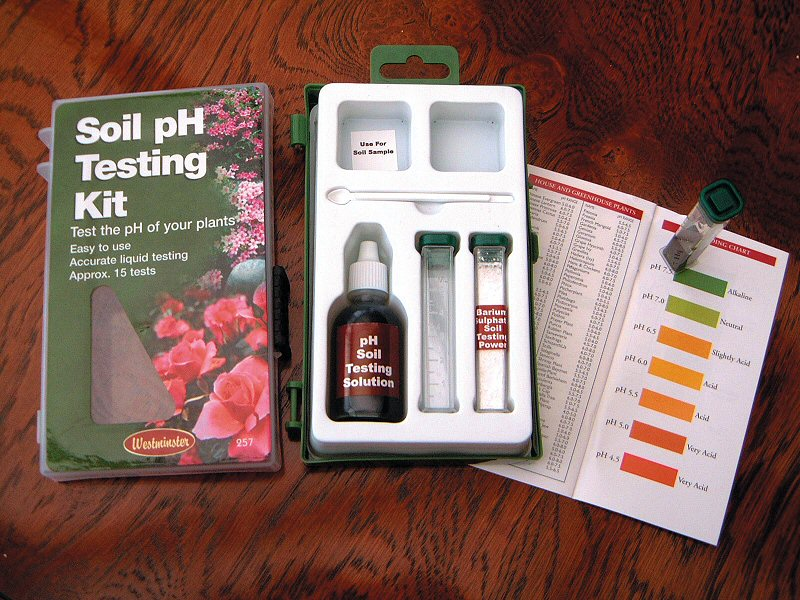 ph test kit instructions