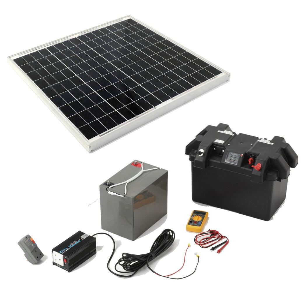 Wind Power Guide Diy Rv Solar Panel Installation Wiring Diagram Caravan Home Kits