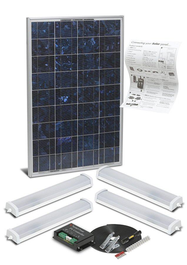Solarmate Iv Mains Free Lighting Kit
