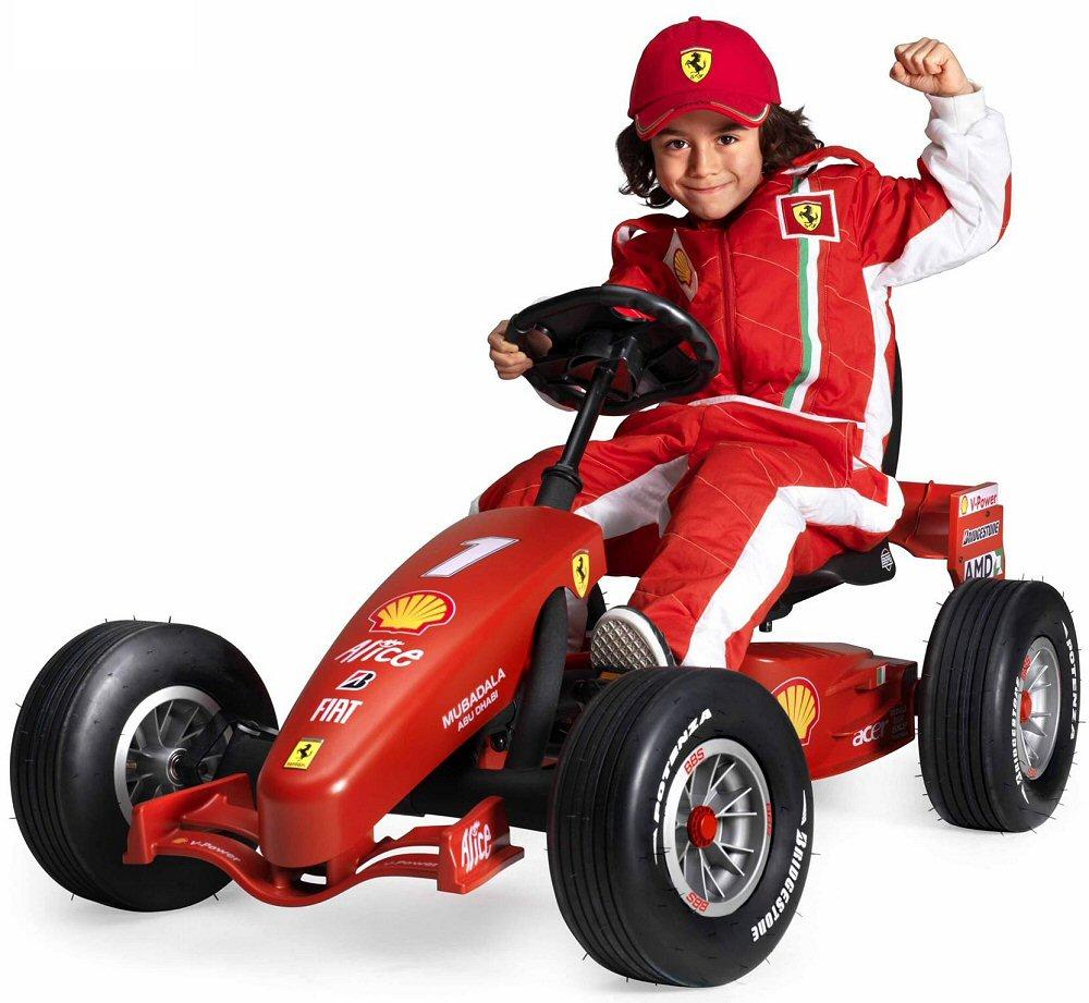 Berg Ferrari F1 Pedal Go Kart