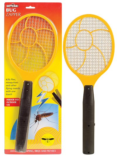 Bug Zapper Electric Mosquito, Fly & Wasp Swatter