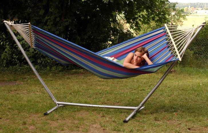 Single end hammock stand