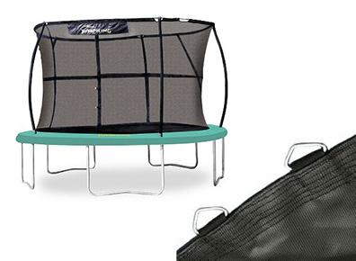 toile de saut pour trampoline jumppod classic 4 3m. Black Bedroom Furniture Sets. Home Design Ideas