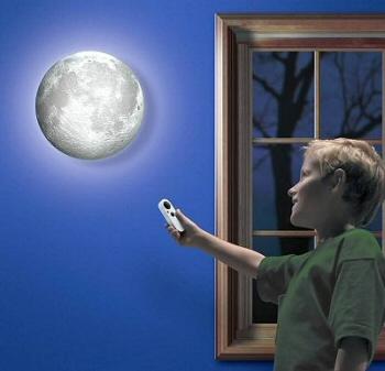 Moon In My Room - Moon-Themed Bedroom Light
